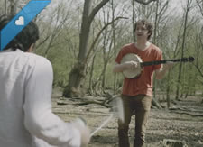 Watch: Sam Amidon - As I Roved Out